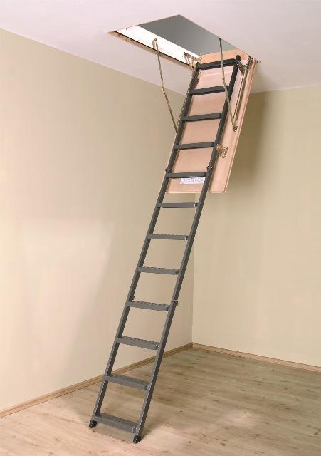Складная металлическая лестница LMS