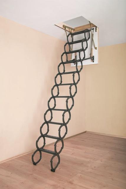 Металлическая термоизоляционная лестница LST