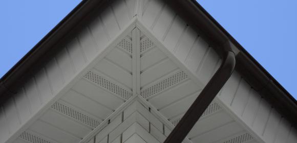 Фото крыши подшитой софитами